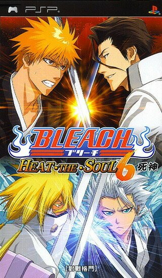 Игра для PSP: Bleach: Heat the Soul 6 (PSP/2009/JAP)