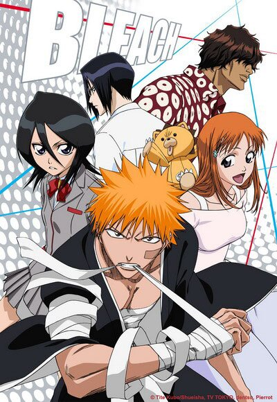 Блич [ТВ] / Bleach TV (2004-2012/RUS/JAP)