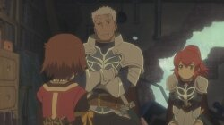 �������� ��������: ������ ���� / Tales of Vesperia: The First Strike (2010/RUS/JAP) [BDRip 720p]