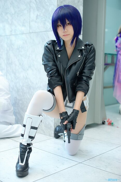 Cosplay: Ghost in the shell.Motoko Kusanagi [Shinoko]
