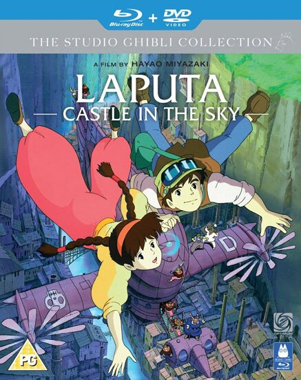 Небесный замок Лапута / Laputa: The Castle in the Sky (1986) BDRip