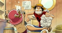 Ван-Пис: Фильм третий / One Piece: Chopper Kingdom of Strange Animal Island (2002/RUS/JAP) BDRip 720p