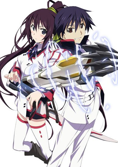 Необъятные небеса / IS: Infinite Stratos (2011/RUS/JAP) HDTVRip 720p