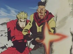 Триган [ТВ] / Trigun TV (1998/RUS/JAP) DVDRip