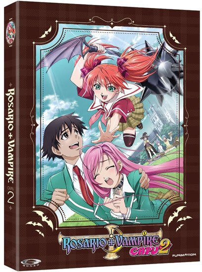 Розарио + Вампир (2 Сезон) [Uncensored] / Rosario + Vampire (2008/RUS/JAP) [HWP] BDRip
