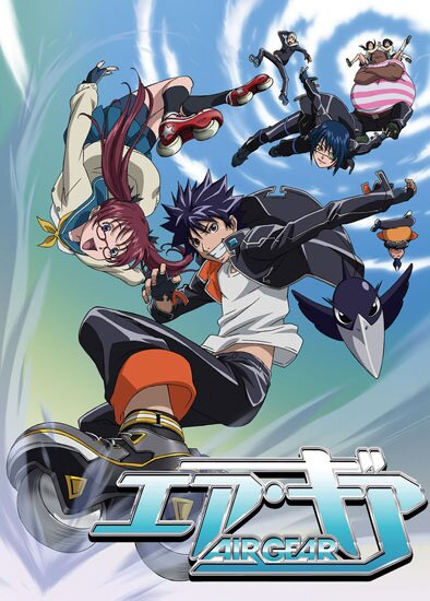 Эйр Гир [Uncensored] / Air Gear (2006/RUS/JAP/16+) [HWP] DVDRip