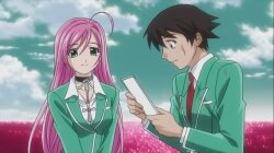 Розарио + Вампир (1 Сезон) [Uncensored] / Rosario + Vampire (2008/RUS/JAP) [HWP] BDRip