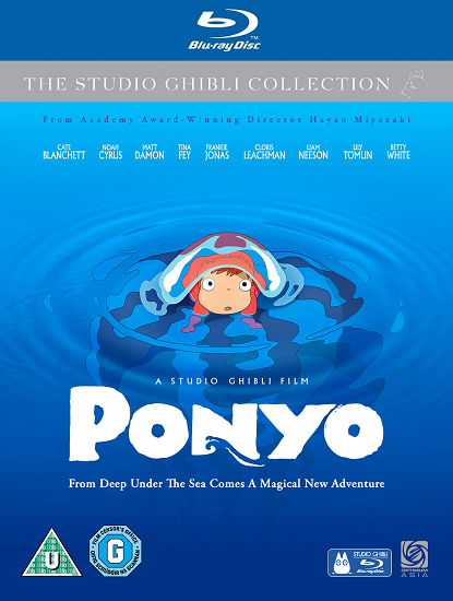 Рыбка Поньо на Утесе / Ponyo on the Cliff by the Sea / Gake no Ue no Ponyo (2008/RUS/JAP) [HWP] BDRip
