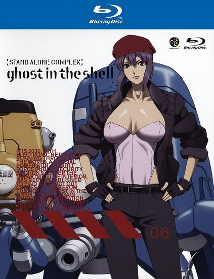 Призрак в доспехах: Синдром одиночки [TV-1] + Дни Татиком / Ghost In The Shell: Stand Alone Complex, 1st GIG + Tachikoma Special (2002/RUS) BDRip