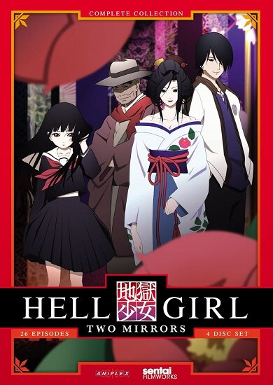 Адская девочка (второй сезон) / Hell Girl: Two Mirrors / Jigoku Shoujo Futakomori (2006/RUS/JAP) DVDRip