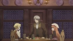 ������� � �������� OVA / Spice and Wolf II OVA / The Wolf and the Amber Melancholy (2009/RUS/JAP) BDRip 720p