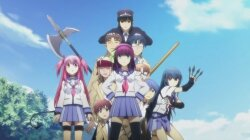 Ангельские ритмы / Angel Beats! (2010/RUS/JAP) BDRip [HWP]