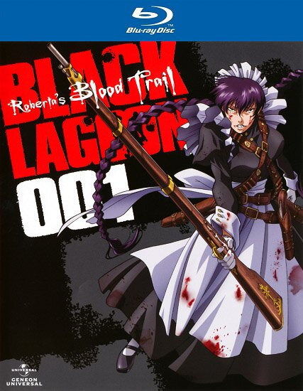 Пираты «Черной лагуны» OVA / Black Lagoon: Roberta's Blood Trail (2010/RUS/JAP) BDRip 720p