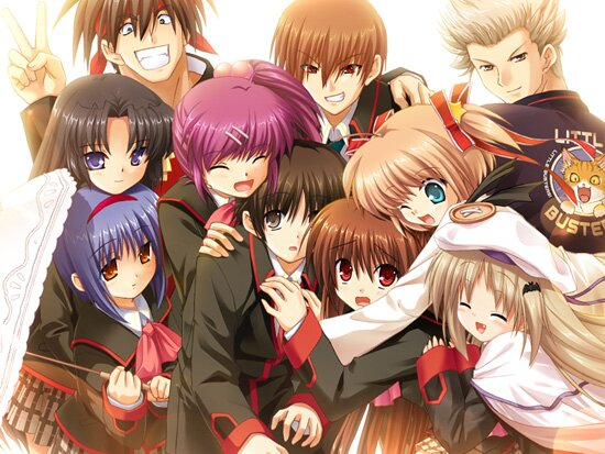 ��������� ���������� / Little Busters!  (2012/RUS) HDTVRip 720p