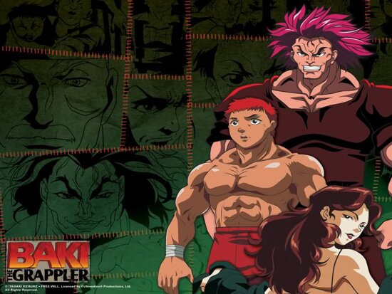 Борец Баки / Grappler Baki: The Ultimate Fighter (1994/RUS/ENG) DVDRip