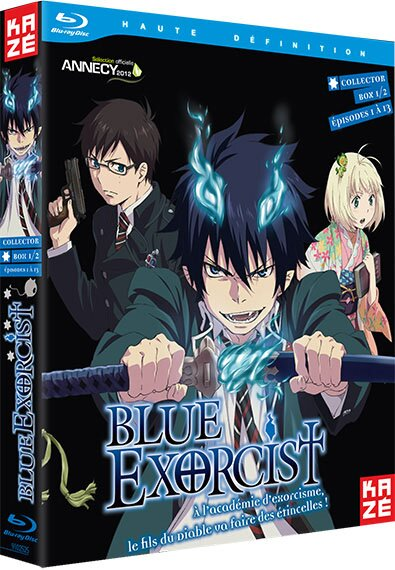 Синий Экзорцист / Blue Exorcist / Ao no Exorcist (2011/RUS/JAP) BDRip 720p