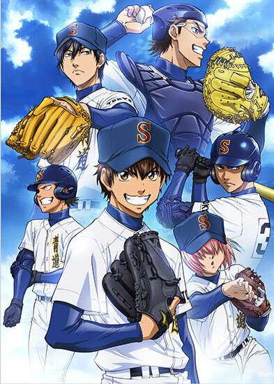 Путь аса / Ace of Diamond / Dia no Ace (2013/RUS/JAP) HDTV 720p