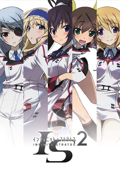 Необъятные небеса [ТВ-2]  / IS: Infinite Stratos (2013/RUS) HDTV 720p