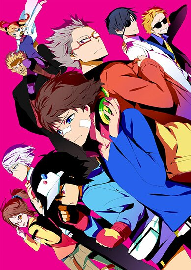 Хаматора [ТВ-1] / Hamatora The Animation (2014/RUS/JAP) HDTV 720p
