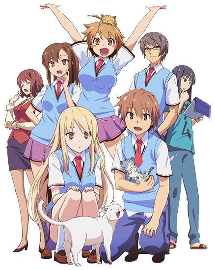 Девушка-питомец из Сакурасо / Sakurasou no Pet na Kanojo (2012/RUS/JAP) BDRip 720p
