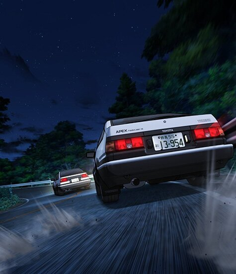 ������� ��� - ��������� ������ / Initial D Final Stage (2014/RUS/JAP) DVDRip