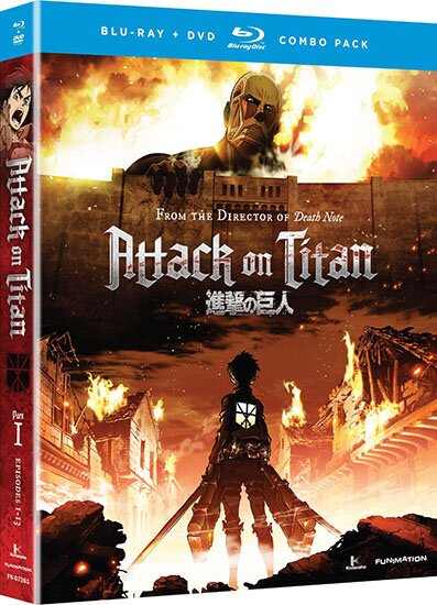 Вторжение гигантов / Attack on Titan / Shingeki no Kyojin (2013/RUS/JAP/16+) BDRip 720p
