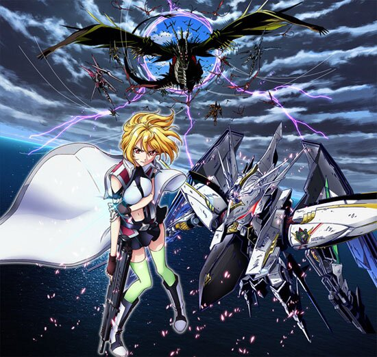 Рондо ангелов и драконов / Cross Ange: Tenshi to Ryuu no Rondo (2014/RUS) HDTV 720p