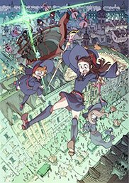 Академия ведьмочек: Колдовской парад / Little Witch Academia: The Enchanted Parade / Little Witch Academia: Mahou Shikake no Parade (2015/RUS/JAP) BDRip 720p