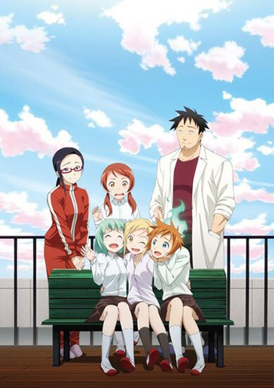 Дэми-тян хочет рассказать / Interviews with Monster Girls / Demi-chan wa Kataritai (2017/RUS/JAP/16+) HDTV 720p