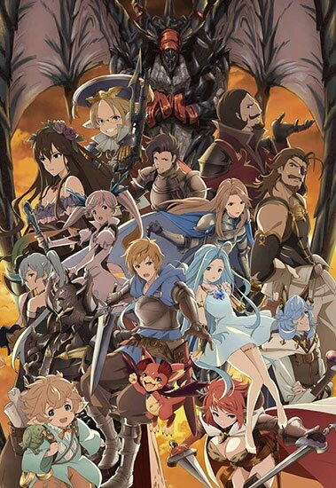 Фантазия Гранблю / Granblue Fantasy The Animation (2017/RUS/JAP) HDTV 720p